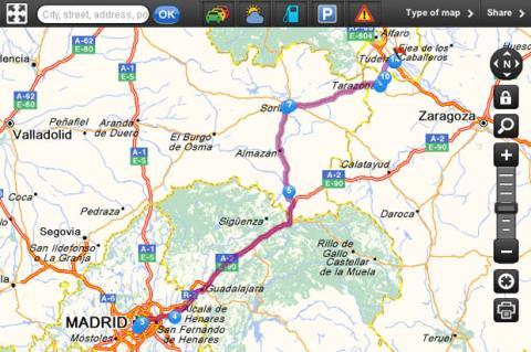 Los 5 mejores Mapas de carreteras online