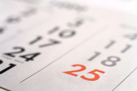 Los 5 mejores calendarios