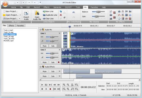 Los cinco mejores editores de audio