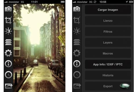 apps de fotografía para iphone