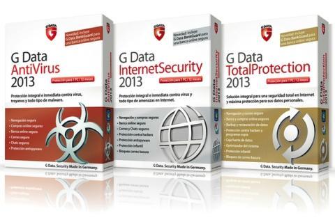 Gama de productos G Data 2013