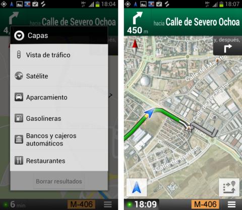 Incluir puntos de interés en una ruta con Google Maps