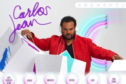 App de Carlos Jean para iOS