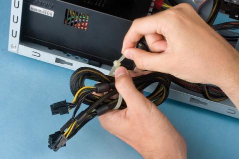 Ordena los cables internos de tu PC