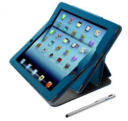 Trust eLiga Elegant folio stand & stylus for iPad Mini