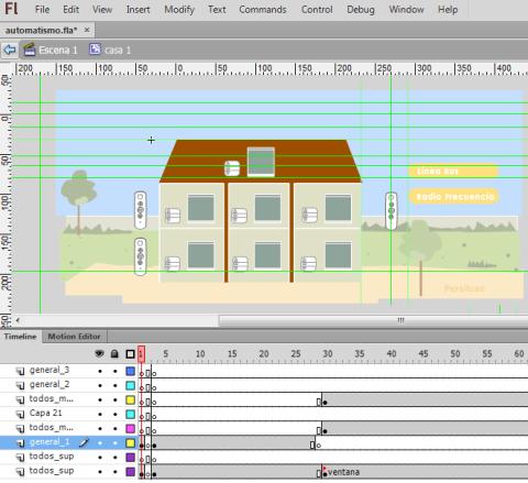 Animación en Html 5 con Flash