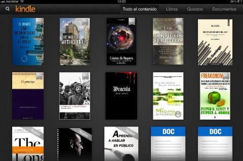 Amazon Kindle para iOS