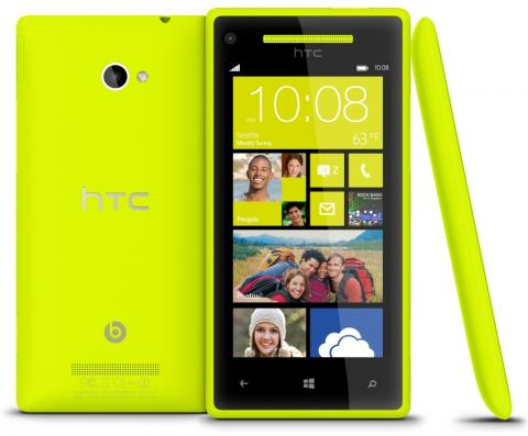 HTC Windows Phone 8X viene equipado con Windows 8