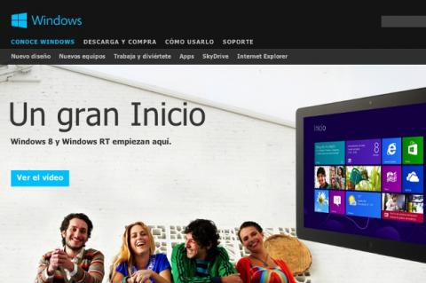 Web de Windows 8