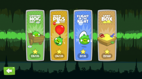 Actualización Bad Piggies