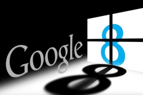 ¿Tiene miedo Google del nuevo Windows 8?