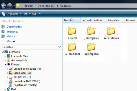 Símbolos en los nombres de archivos y carpetas | Tecnología ...