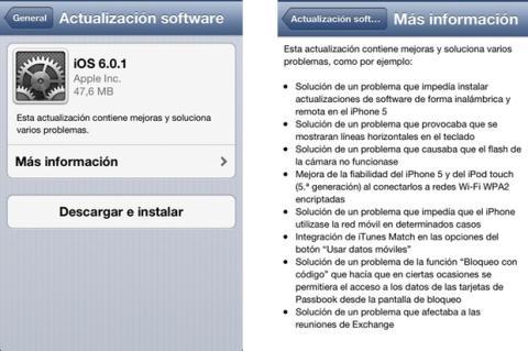 iOS 601