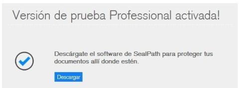Descarga SealPath