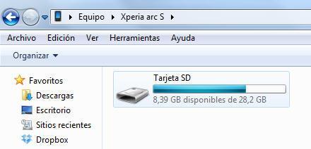 Copiar datos SD 01