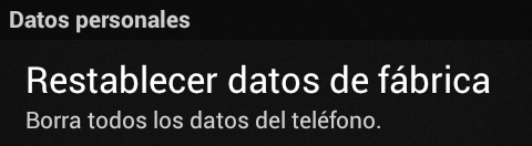 Restablecer datos de fabrica Android 03