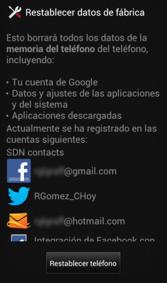 Restablecer datos de fabrica Android 04