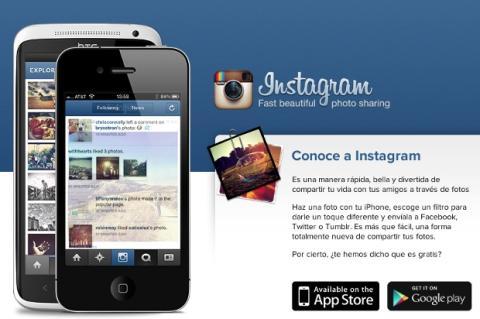 Los perfiles de Instagram, ya en la web