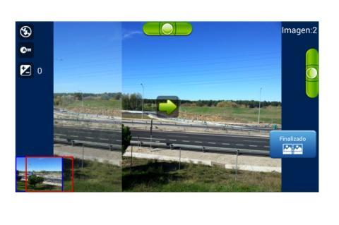 Crea una fotografía panorámica con Android