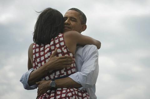 Foto Michelle y Barack Obama Twitter