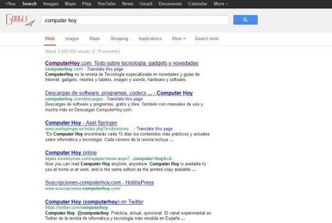 cambio imagen google