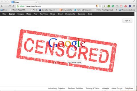 China bloquea el acceso a Google