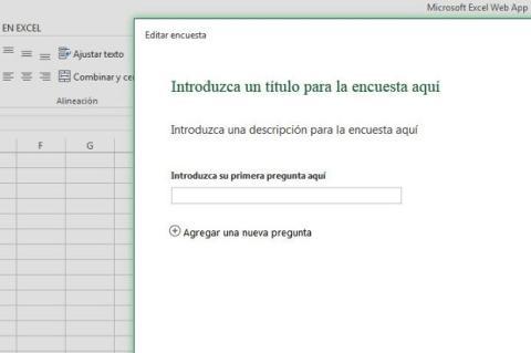 Excel Surveys encuestas online