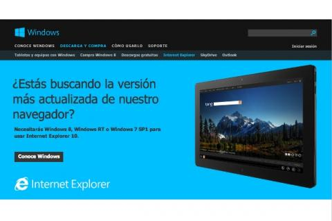 Preview de Internet Explorer 10 para Windows 7
