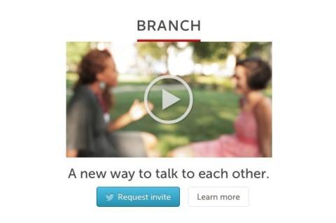 Interfaz de Branch