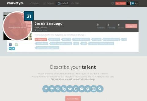 configuracion perfil marketyou