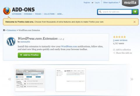 extension wordpress firefox