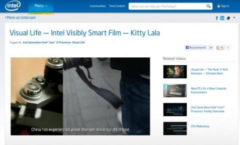 intel video procesadores segunda generacion