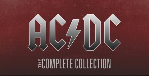 Ya está disponible en iTunes la discografía completa de AC/DC