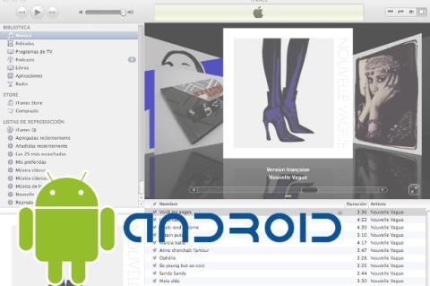 Sincroniza tu Android con iTunes