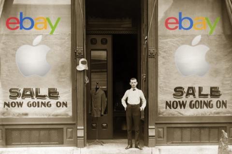 Apple abre un outlet en eBay