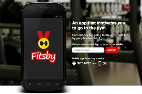 Fitsby: Oblígate a ir al gimnasio