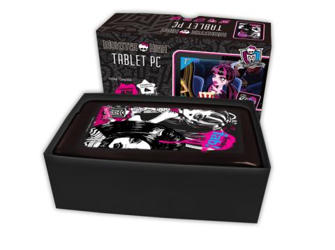 La tableta más monstruosa del mercado: Monster High
