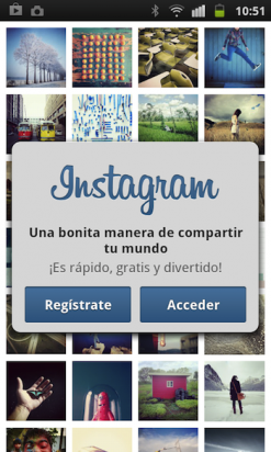 Registro Instagram