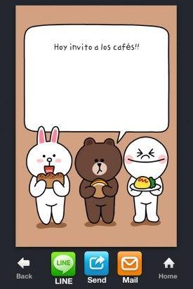 line card app