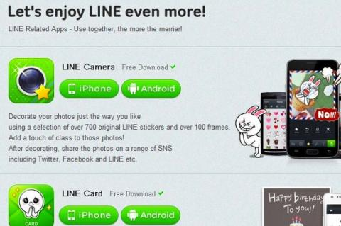 apps para Line