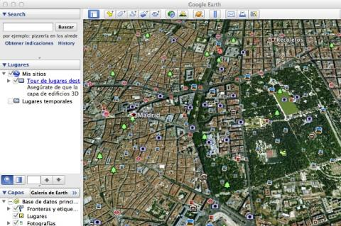 Google Earth para Mac OS X