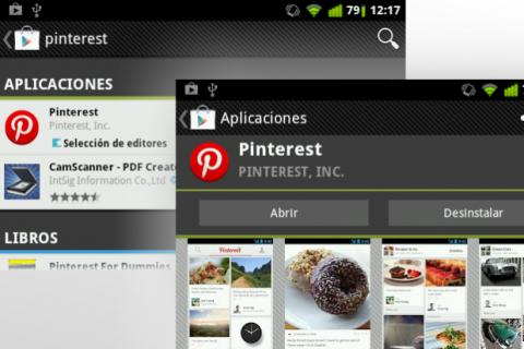 App Pinterest Play Store