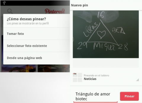 Pinear app Pinterest