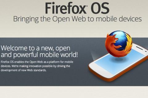 Firefox OS, un nuevo sistema operativo para móviles de la fundación Mozilla