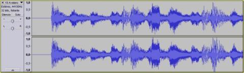 Divide un archivo de audio con Audacity 03