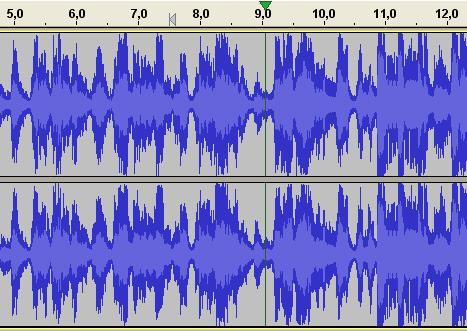 Divide un archivo de audio con Audacity 04