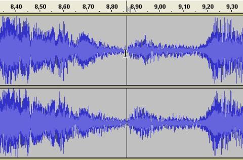 Divide un archivo de audio con Audacity 05