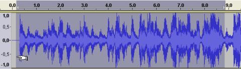 Divide un archivo de audio con Audacity 06