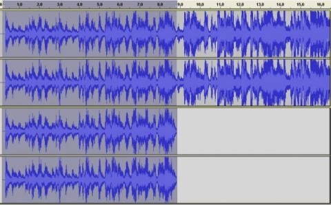 Divide un archivo de audio con Audacity 07