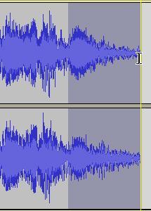 Divide un archivo de audio con Audacity 08